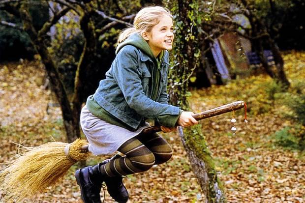 """Sidonie von Krosigk 2002 als """"Bibi Blocksberg"""""""