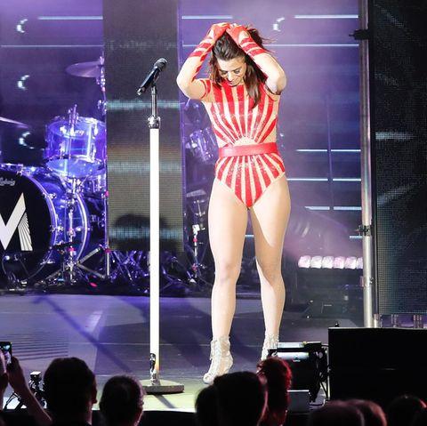 Vanessa Mai bei ihrem Konzert am 20. April in Hamburg
