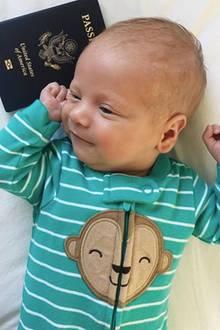 21. April 2018  Der kleine Leo von Star-Bloggerin hat seinen amerikanischen Pass. Zeit zu feiern!