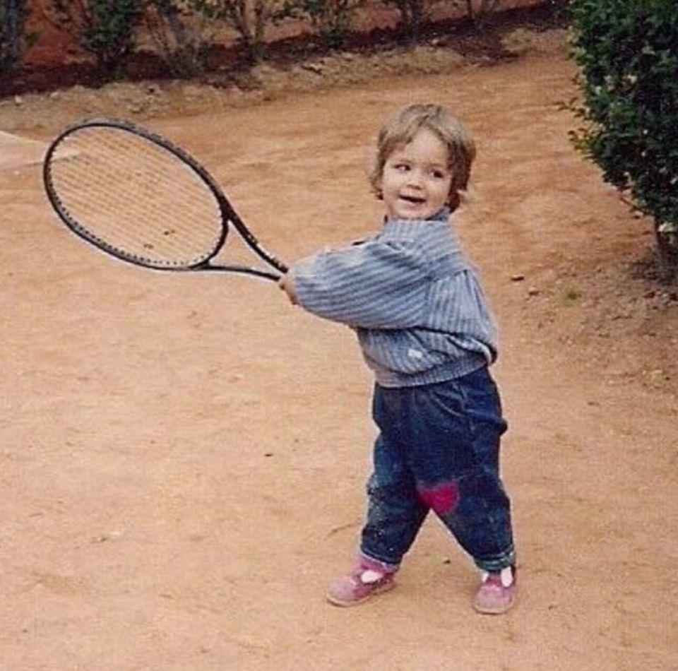 Sabine Lisicki  Die Leidenschaft für den Tennissport hatte Sabine Lisicki bereits als kleiner Stöpsel.