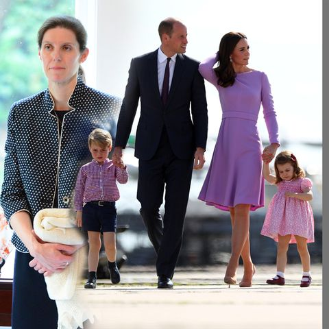 Maria Teresa Turrion Borrallo ist sie Super-Nanny der Familie Cambridge