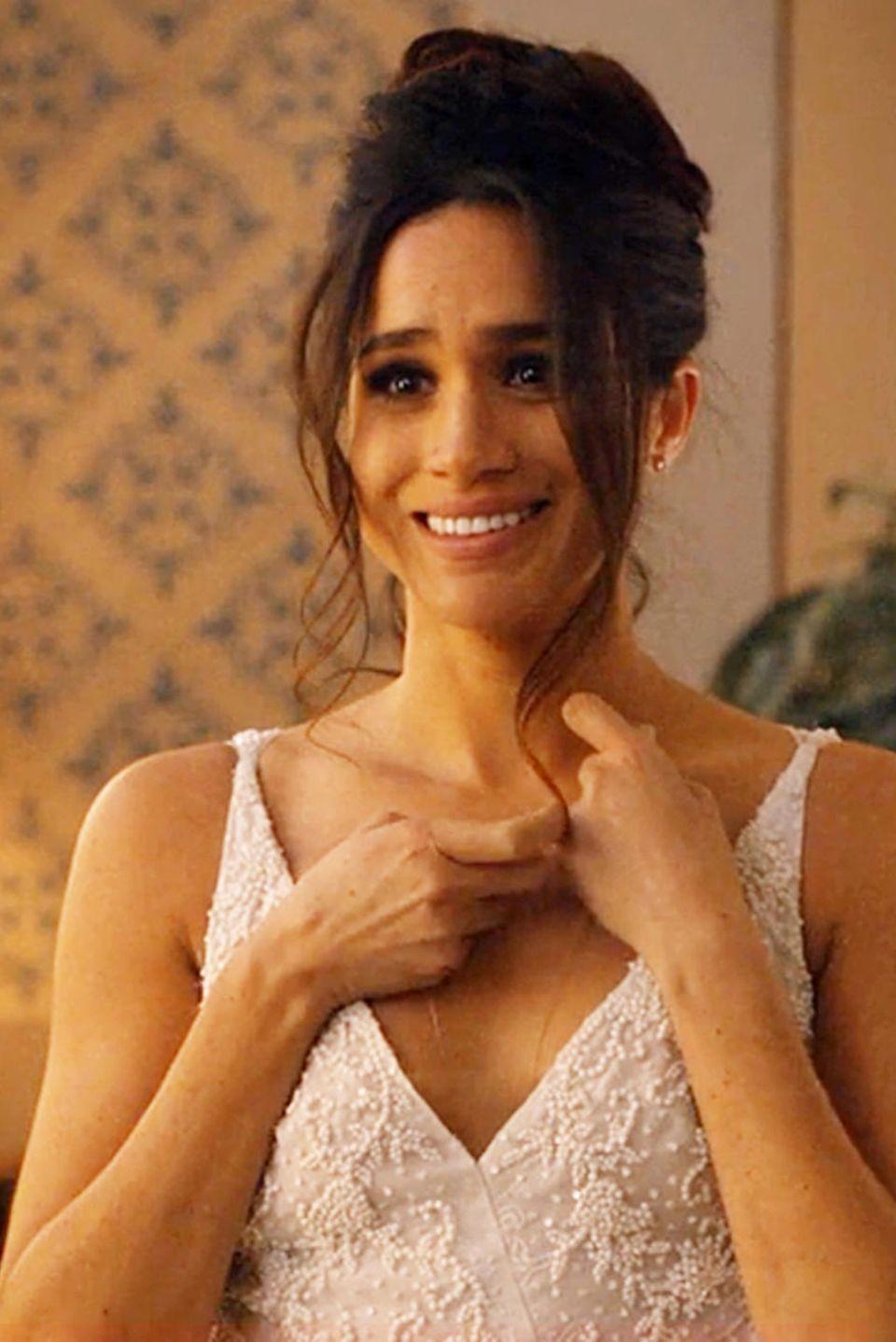 """Meghan Markle vor ihrer Hochzeit in der TV-Serie """"Suits"""""""