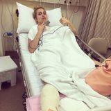 Nach einem Sturz während der Dschungel-Dreharbeiten liegt die Moderatorin Susanna Ohlen im Krankenhaus. Ein Sprunggelenksbruch lautet die Diagnose.
