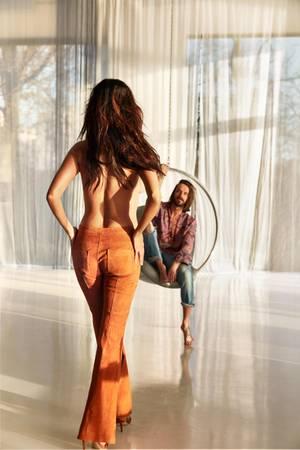 Verona mag ihren Body, ist stolz darauf, dass sie die 60 Kilo bei einer Größe von 1,78 Meter seit Jahren hält.