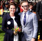 27. April 2018   Prinzessin Annette und Prinz Bernhard geben sich die Ehre.
