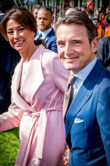 27. April 2018  Eine Stadt voller Royals:PrinzMauritsund PrinzessinMarilènemachen da keine Ausnahme.