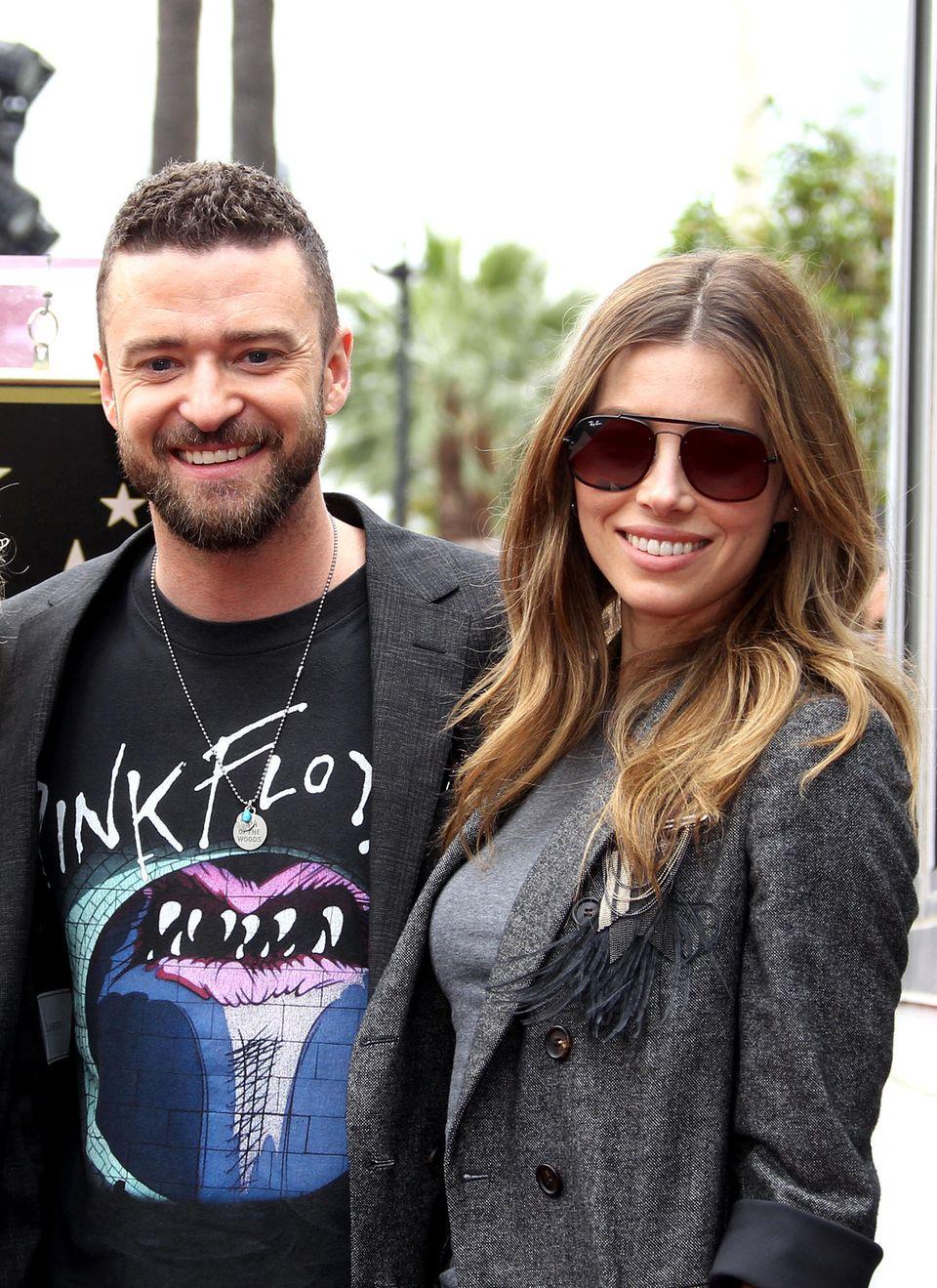 30. April 2018  Die Boygroup*NSYNC um Lead-Sänger Justin Timberlake bekommt einen Stern auf dem berühmten Walk of Fame. Da darf Jessica Biel natürlich nicht fehlen, um ihren Mann bei der Zeremonie zu unterstützen.