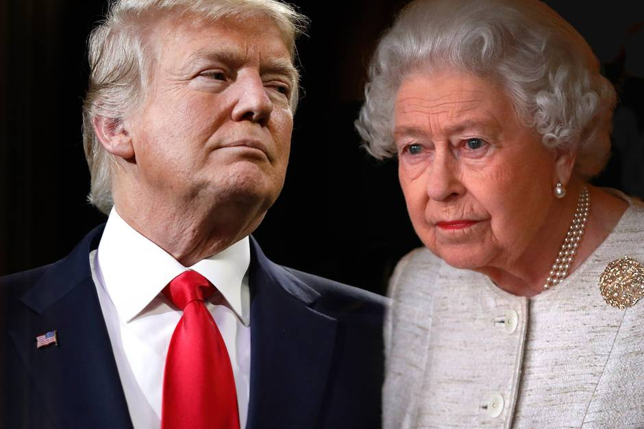 Donald Trump Trifft Er Die Queen Im Juli In London Gala De