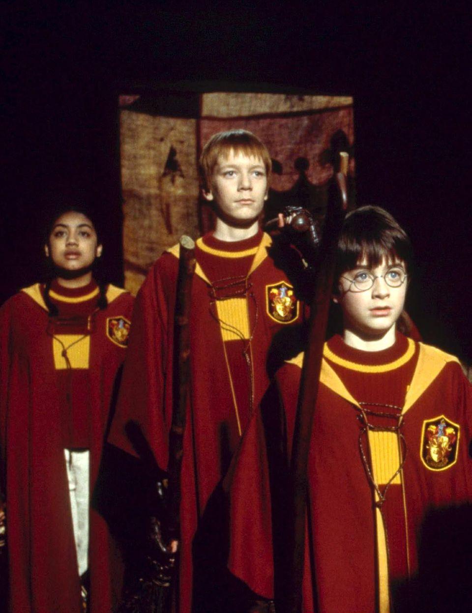2001  James Phelps (m.), wie Harry-Potter-Fans ihn kennen und lieben gelernt haben: Als frechen Weasley-Zwilling Fred.