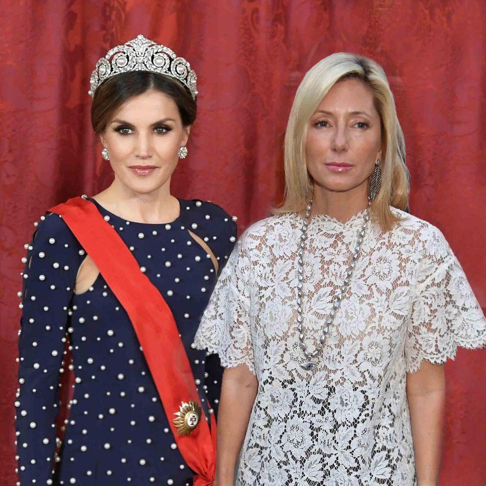 Königin Letizia + Prinzessin Marie-Chantal