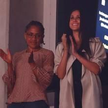 Meghan Markle (r.) mit ihrer Mutter Doria Ragland am 30. September 2017 in Toronto bei der Abschlussfeier der Invictus Games in Toronto