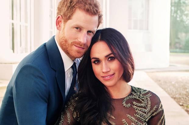 Die Zeit vergeht: Prinz Harry und Meghan, hier auf ihrem offiziellen Verlobungsfoto vom November 2017, heiraten bald