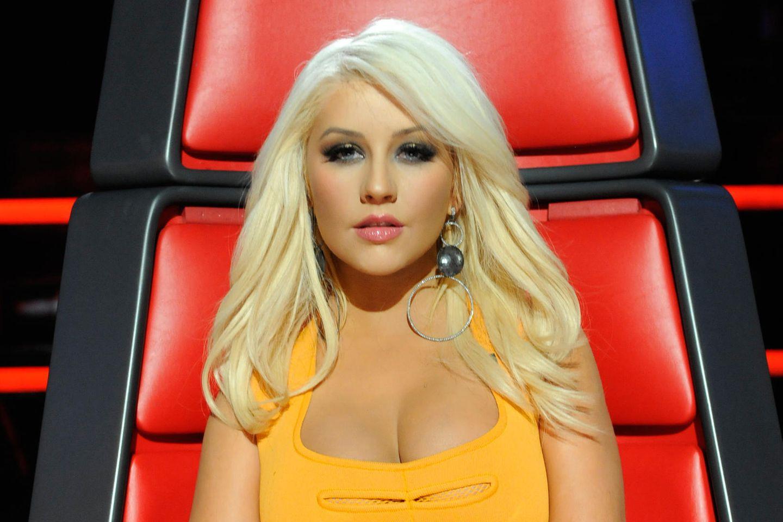 "Christina Aguilera bei ""The Voice"""