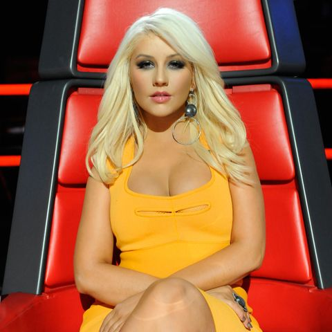 "Christina Aguilera bei ""The Voice"""