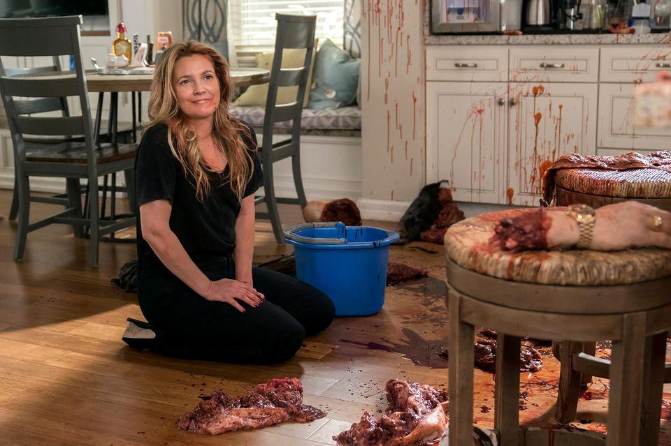 "Drew Barrymore, in ""Santa Clarita Diet"" (Netflix)"