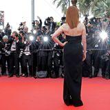 Ein Hollywoodstar im französischen Blitzgewitter ...