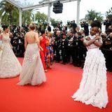 So viele Schönheiten auf dem Red Carpet: Die talentierte SchauspielerinLupita Nyong'o ist da keine Ausnahme.