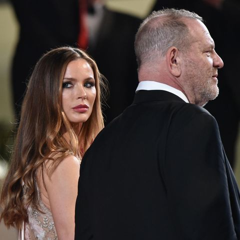 Georgina Chapman und Harvey Weinstein 2016 in Cannes.