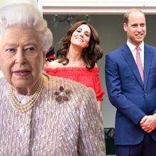 Königin Elizabeth, Herzogin Catherine, Prinz William