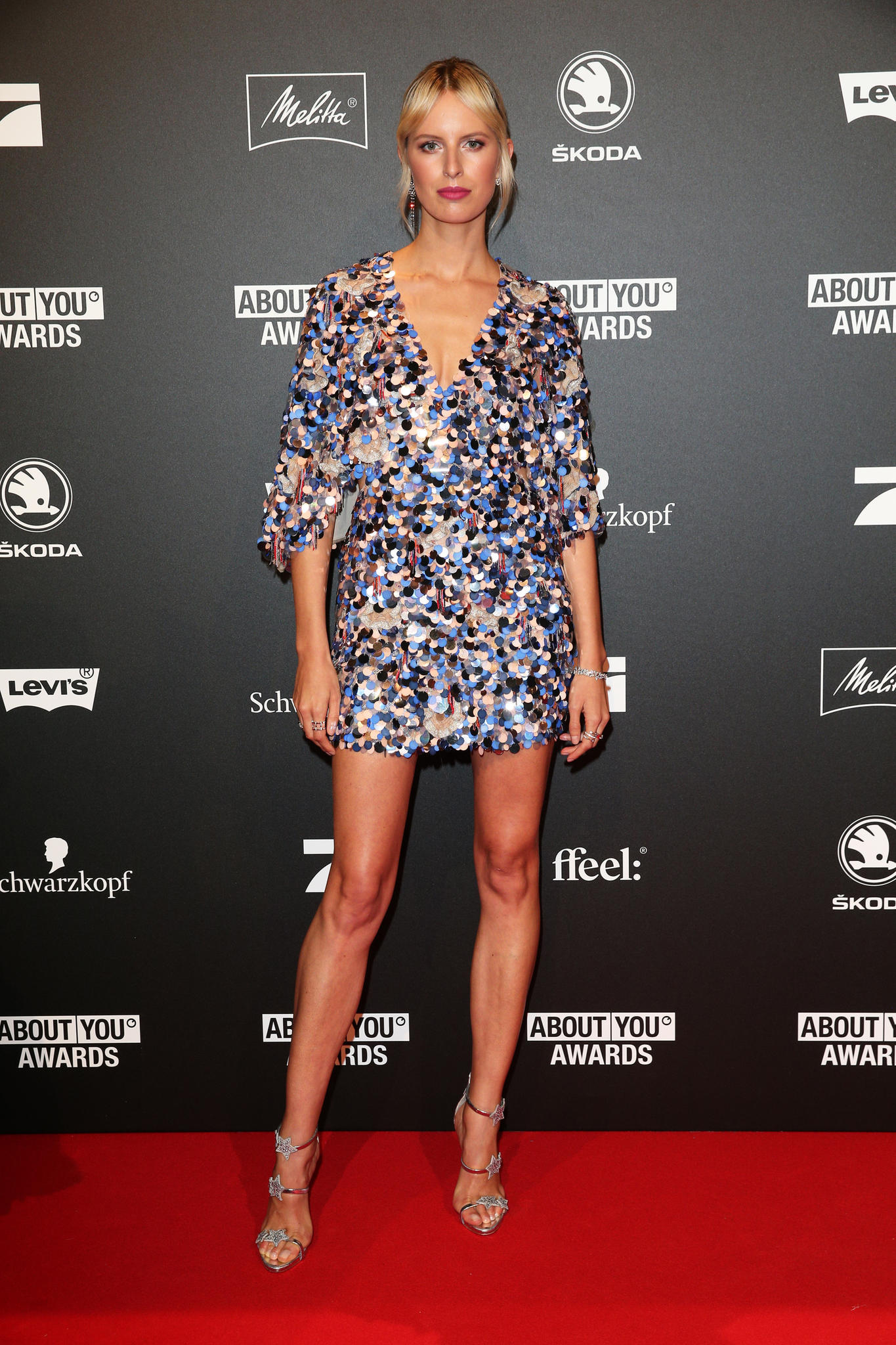 Karolina Kurkova bei den About You Awards 2018.