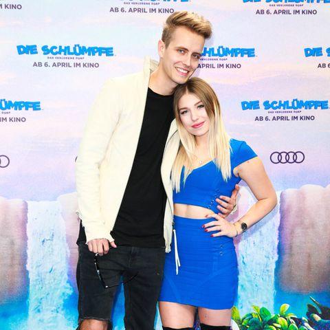 Bianca Heinicke mit ihrem Freund Julian Claßen