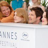 """MélanieThierry,ClémencePoésy, PierreDeladonchamps, CharlotteLeBon und SabrinaOuazanipräsentieren den Film """"JeunesTalents Adami"""" und verdrehen mitihrersympathischen, verspielten Art so manchem den Kopf."""