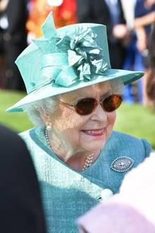 Queen Elizabeth gibt sich nach außen hin cool
