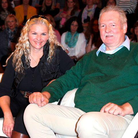 Carmen Hanken und Tamme Hanken bei einem Auftritt 2015