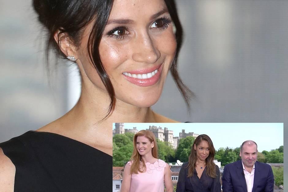 Meghan Markle Suits Kollegen Packen In Tv Aus Gala De