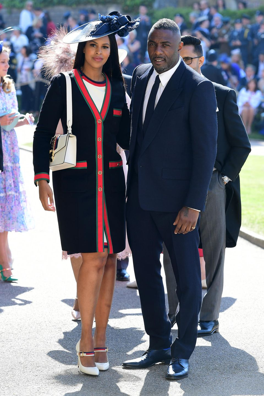 Idris Elba und Sabrina Dhowre