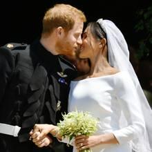 Meghan & Harry: Der erste Kuss als Ehepaar