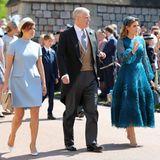 Prinzessin Eugenie, Prinz Andrew undPrinzessin Beatrice