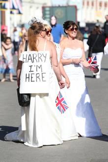 Diese Dame hat Pech gehabt, denn Prinz Harry hat nur Augen für seine Meghan.
