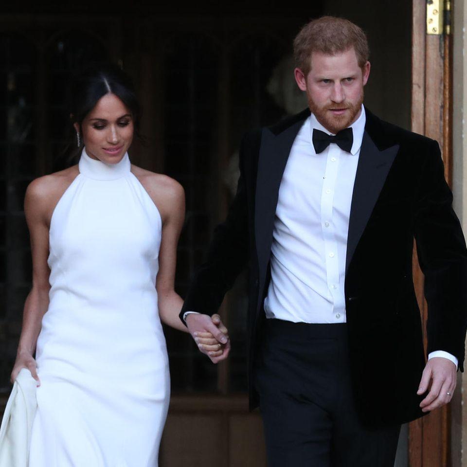 Prinz Harry + Meghan Markle: Details ihrer geheimen Hochzeitsparty enthüllt