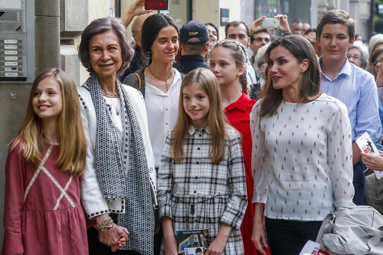 Königin Sofia + Königin Letizia
