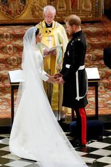 Prinz Harry und Herzogin Meghan schwörten sich am 19. Mai 2018 auf Schloss Windsor ewige Treue