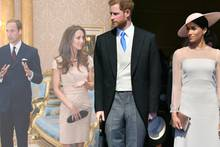 Prinz William, Herzogin Catherine, Prinz Harry, Herzogin Meghan