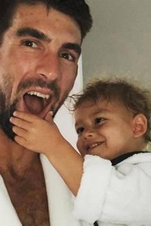 5. Mai 2018  Happy Birthday Boomer! Der Kleine von dem Schwimmer Michael Phelps feiert seinen zweiten Geburtstag!