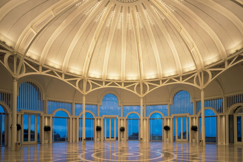 Die Rotunde des Grandhotels ist ein beeindruckender Anblick
