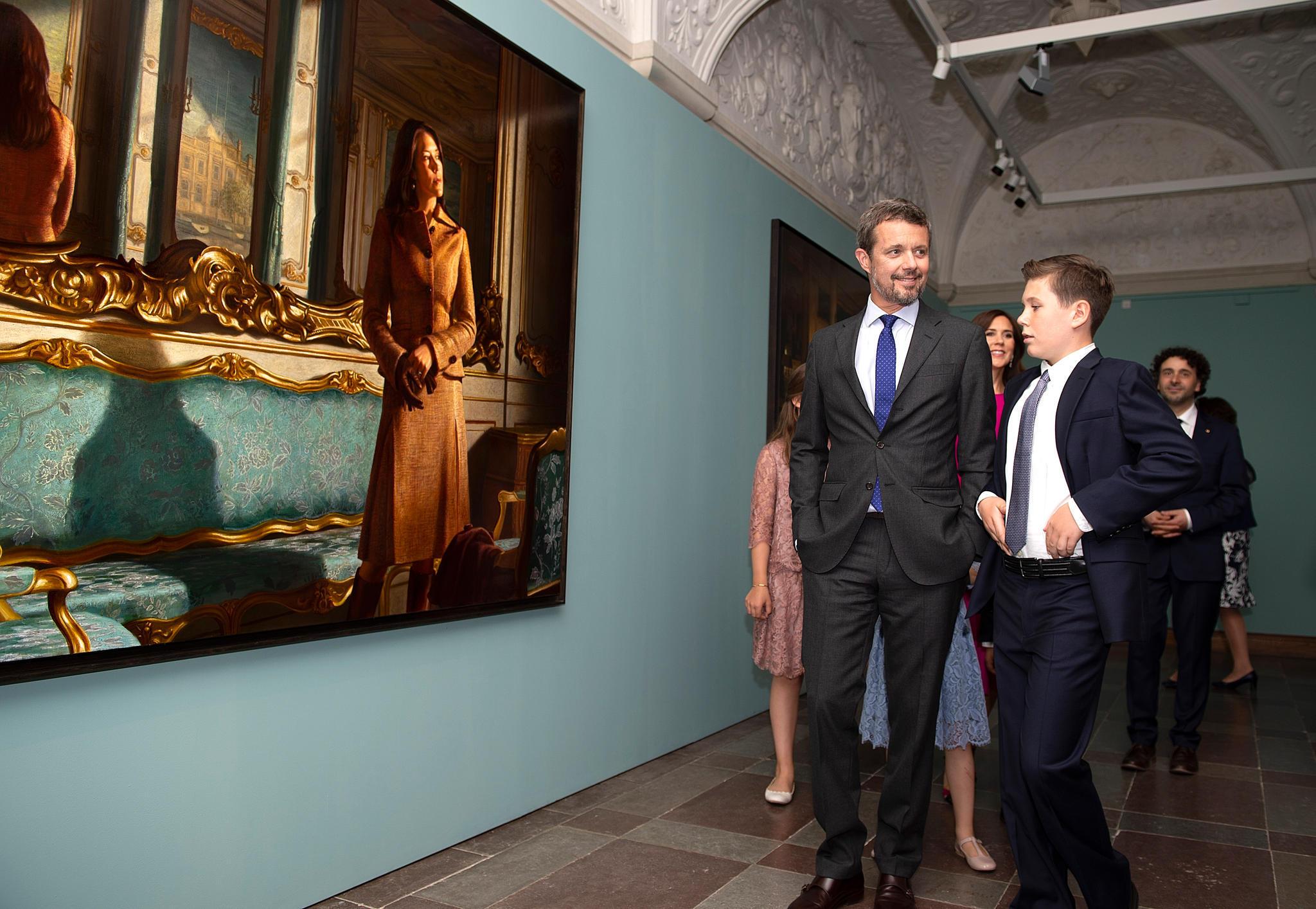 Prinz Frederik und sein Nachfolger, Prinz Christian