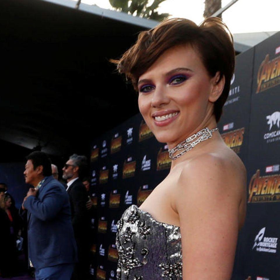 """Scarlett Johansson, """"Avengers: Infinity War""""-Premiere"""