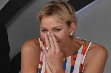 Fürstin in Champagnerlaune: So haben wir Charlène von Monaco noch nie gesehen!
