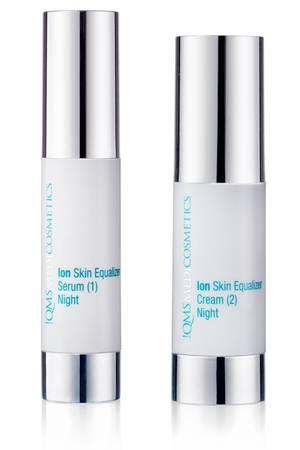 "Ionen-Pflege-Set ""Ion Skin Equalizer""von !QMS, 2 x 30 ml, ca. 295 Euro, (qmsmedicosmetics.com)"