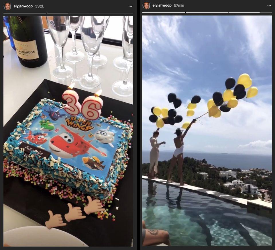 So feiert er seinen Geburtstag: Schöne Frauen, Champagner und eine traumhafte Aussicht