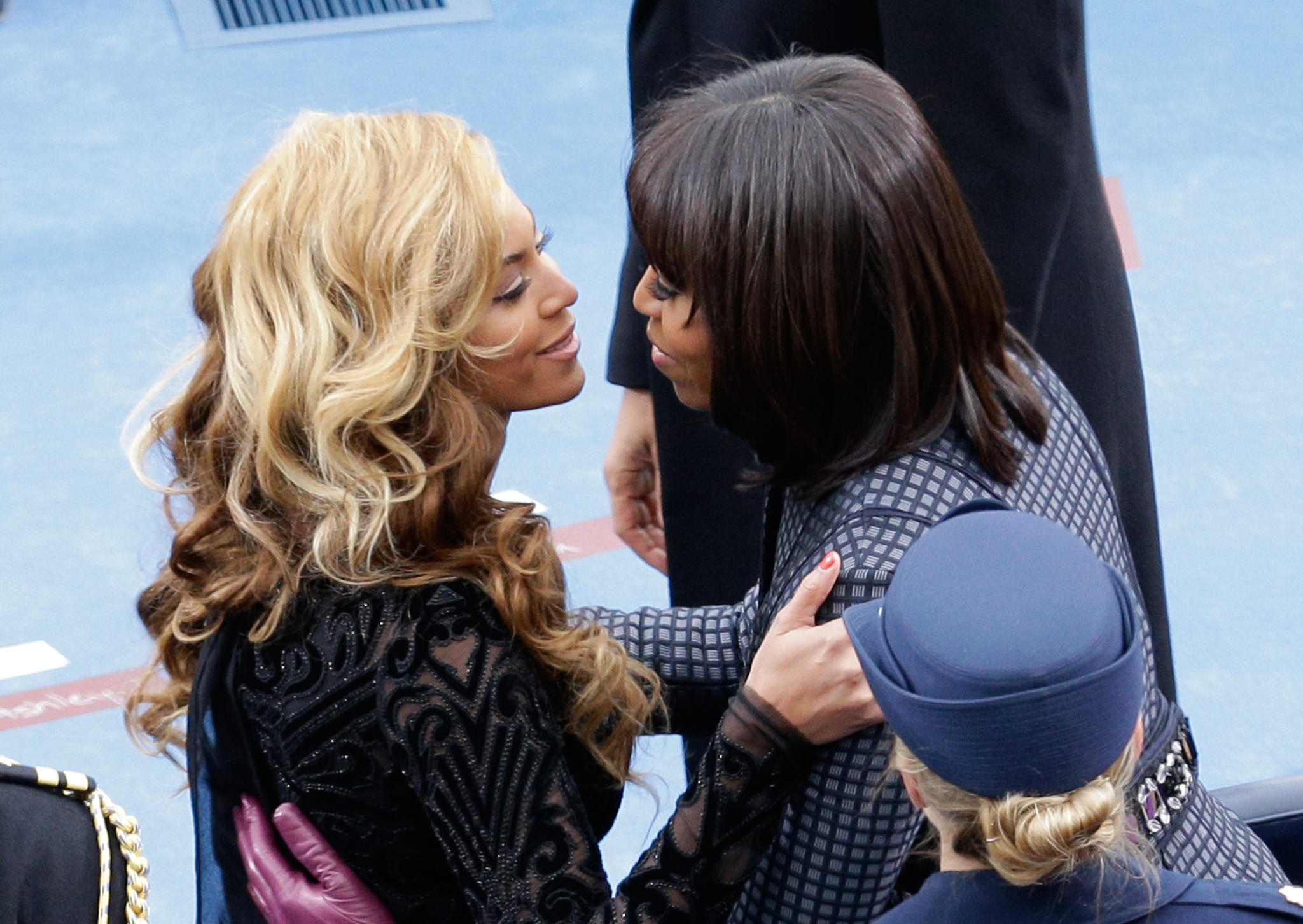 Michelle Obama und Beyoncé Knowles