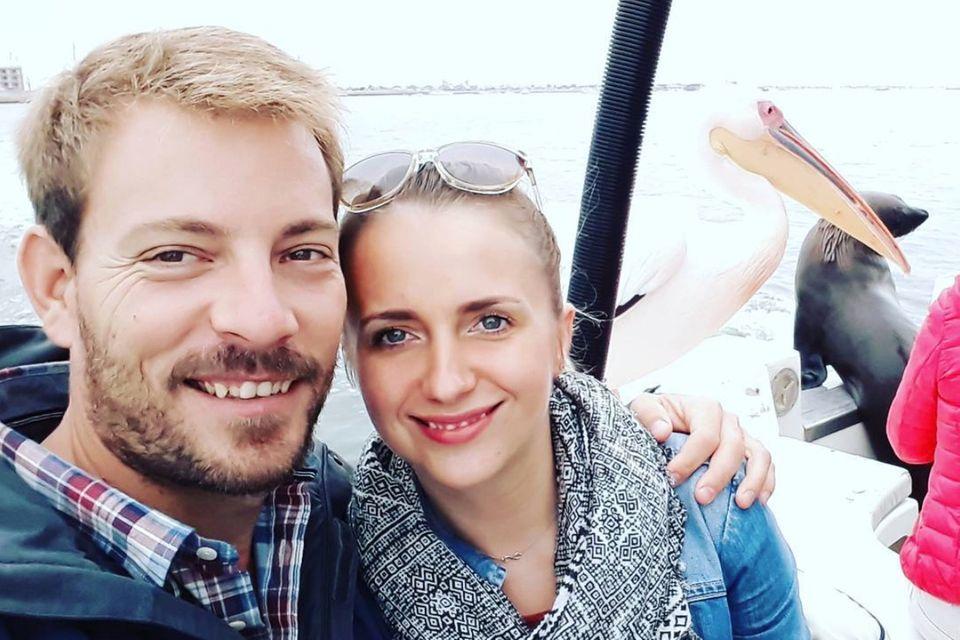 Bauer Gerald und seine Anna
