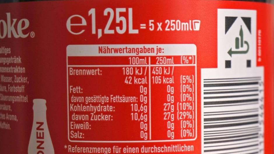 """Wichtige Kennzeichnung: Das bedeutet das """"e"""" auf Flaschen und Dosen"""