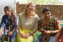 Stilkönigin Máxima auf Staatsbesuch: Mit diesen drei Outfits verzaubert sie Indien