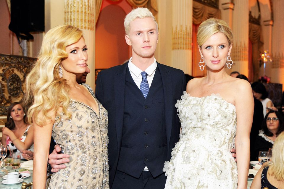 Paris, Barron + Nicky Hilton