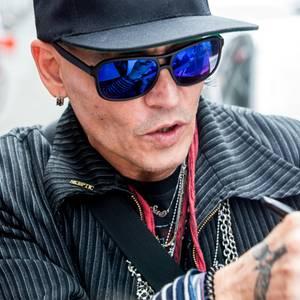 Johnny Depp Krank